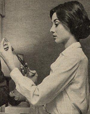"""Audrey Hepburn in """"Geschichter einer Nonne"""""""