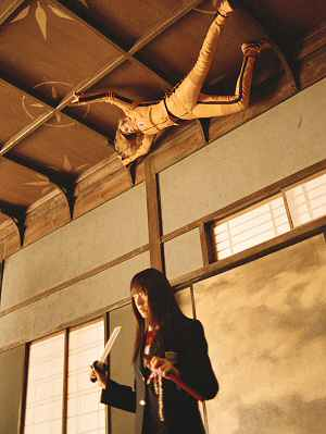 Uma Thurman an der Decke in: Kill Bill