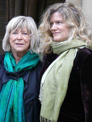 Margarethe von Trotta und Hauptdarstellerin Barbara Sukowa