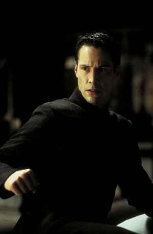 Keanu Reeves Alias Neo muss nicht nur gegen virtuelle Gegner antreten: Matrix Revolutions