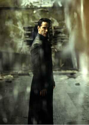 Neo versus Mr. Smith; Keanu Reeves in: Matrix Revolutions