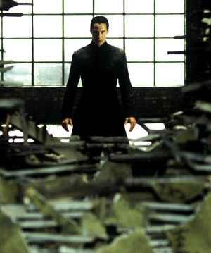 Keanu Reeves in: Matrix Revolutions