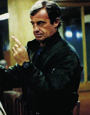 """Jean-Paul Belmondo in """"Der Außenseiter"""""""