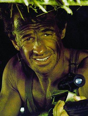 """Jean-Paul Belmondo in """"Der Profi"""""""