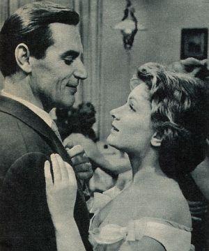 Sie dürfen nicht zusammen sein: Ruth Leuwerik und Bert Sotlar