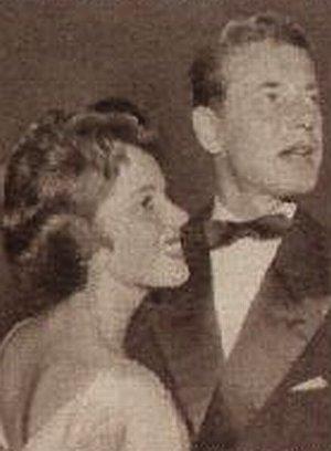 Dieter Borsche mit seiner Gattin Ursula