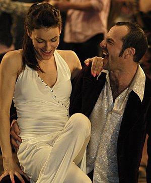 Nicolette Krebitz und Schauspielkollege Jan Plewka