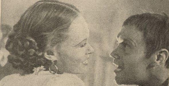 Neue Film Welt, 1947, 1.Jhg. 2.Heft, S.19 Wozzeck, Rotraud Richter, Kurt Meisel (quer)