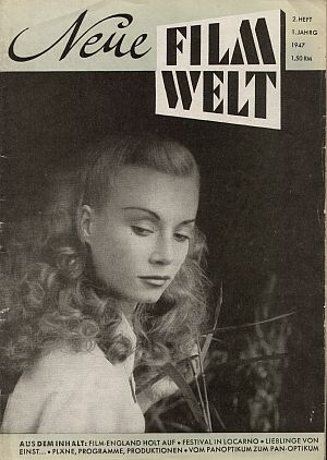 Cover der Neuen Filmwelt, 2. Heft, 1. Jahrgang 1947