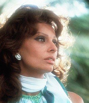 """Sophia Loren in """"Firepower"""""""