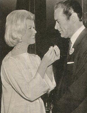 """Doris Day und Rex Harrison in """"Mitternachtsspitzen"""""""