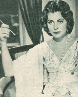 Grace Colligny (Marie Dominique) verfällt dem Magier Hanussen