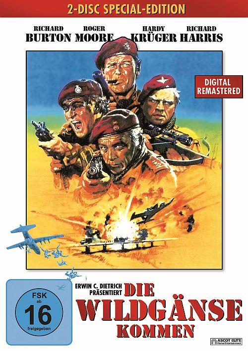 Die Wildgänse kommen, Wild Geese (DVD) 1978