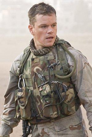 Matt Damon in einer Soldaten-Uniform