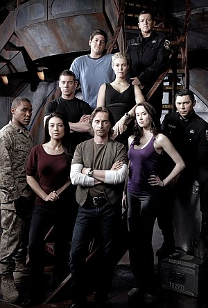 Das Team aus: Stargate Universe
