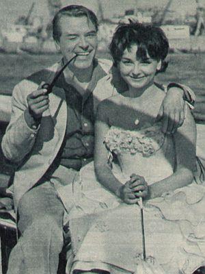 Ingrid Andree und O.W. Fischer