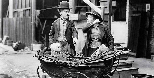 Charlie Chaplin - Der Vagabund und das Kind (quer) 1921