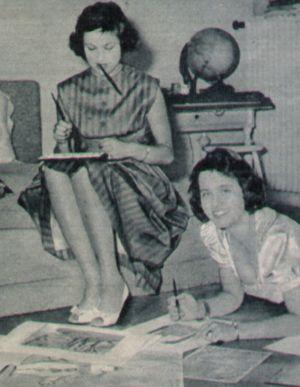 Lis und ihre Schwester Monika