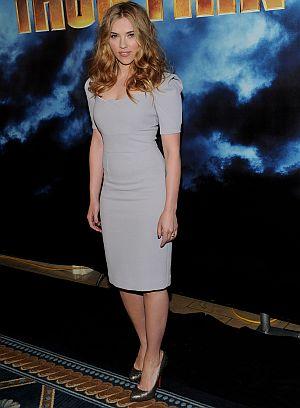 """Scarlett Johansson auf der Premiere von """"Iron Man 2"""" in Los Angeles"""
