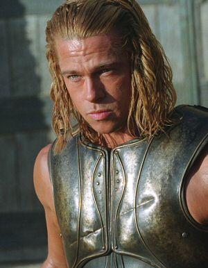 Moderner Achilles stürmt Troja: Brad Pitt