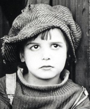 """Jackie Coogan ist """"The Kid"""" (""""Der Vagabund und das Kind"""")"""