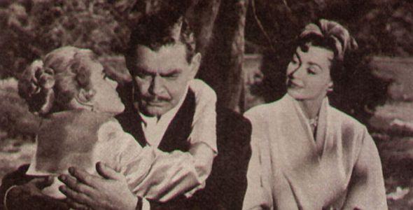 """Carroll Baker, Clark Gable und Lilli Palmer in """"Bei mir nicht"""""""