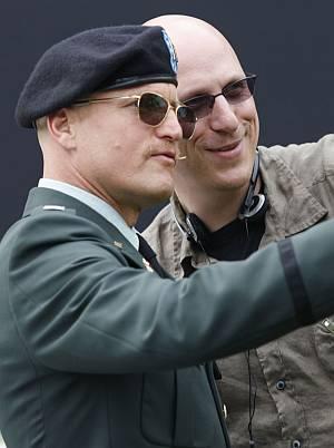 Oren Moverman und sein Schützling Woody Harrelson