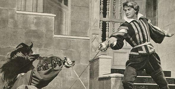 """Jean Marais in """"Mein Schwert für den König"""""""