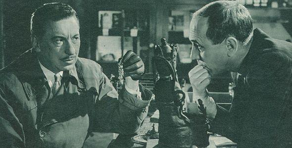 Film Revue, Februar 1955, Jahrgang 9, Zweites Februarheft, S. 17, Ein Mann vergißt die Liebe, (quer)