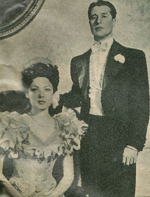 Unter der Haube Martha (Gene Tierney) und Henry (Don Ameche)