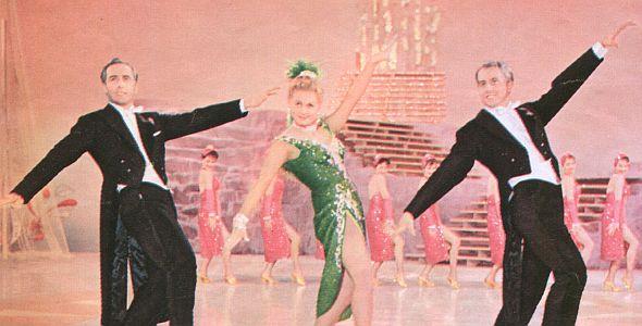 Film Revue, 10.Juni 1958, Jahrgang 12,  Nr.12, S. 60, Marika Rökk, Bühne frei für Marika, quer