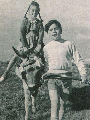 """Peter Fischer und Shirley Brown in """"Santa Lucia"""""""