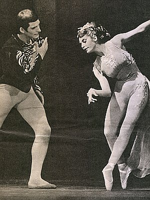 Judith Dornys mit Tanzpartner Wolfgang Leistner