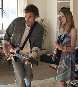 """Stephen Dorff in Elle Fanning in """"Somewhere"""""""