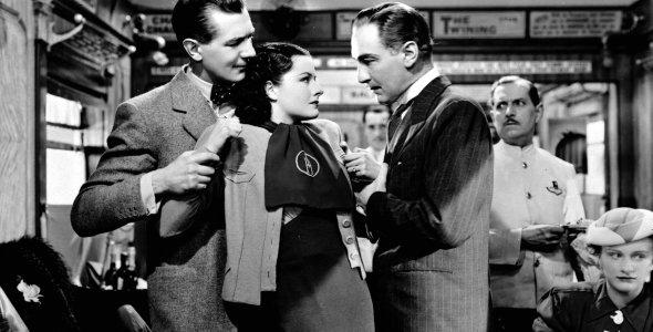 Eine Dame verschwindet, The Lady Vanishes (quer) 1938
