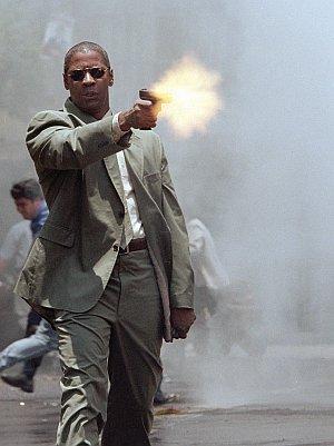 Denzel Washington im Einsatz