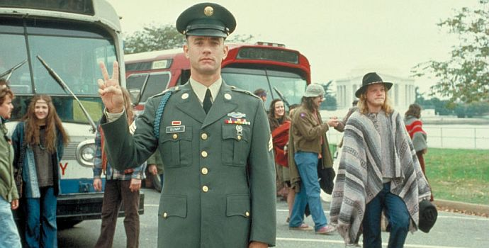 "Tom Hanks ist ""Forrest Gump"""