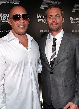 """Vin Diesel und Paul Walker auf der """"Fast & Furious Five""""-Premiere"""