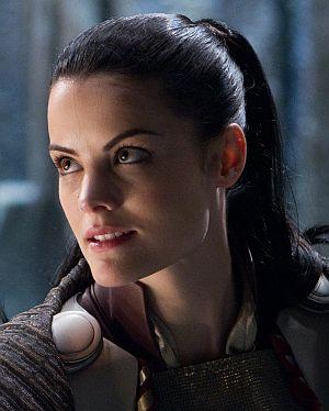 "Jaimie Alexander in ""Thor"""