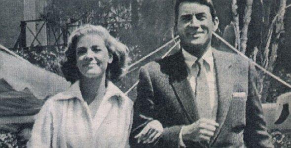 Film Revue, 8. Januar 1957, Jahrgang 11, Nr. 2, S.35, Tüchtig, diese beiden!, Gregory Peck, Lauren Bacall (Quer)