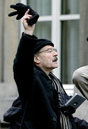 Ist um den Film nicht bange: Regisseur Volker Schlöndorff