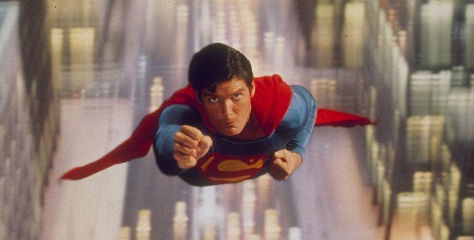 "Christopher Reeve in ""Superman - Der Film"" (1978)"