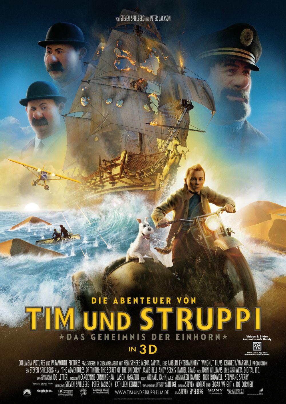 Die Abenteuer von Tim und Struppi - Das Geheimnis der 'Einhorn' (Kino) 2011