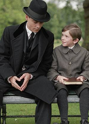 Johnny liebt die Vaterrolle nicht nur imFilm