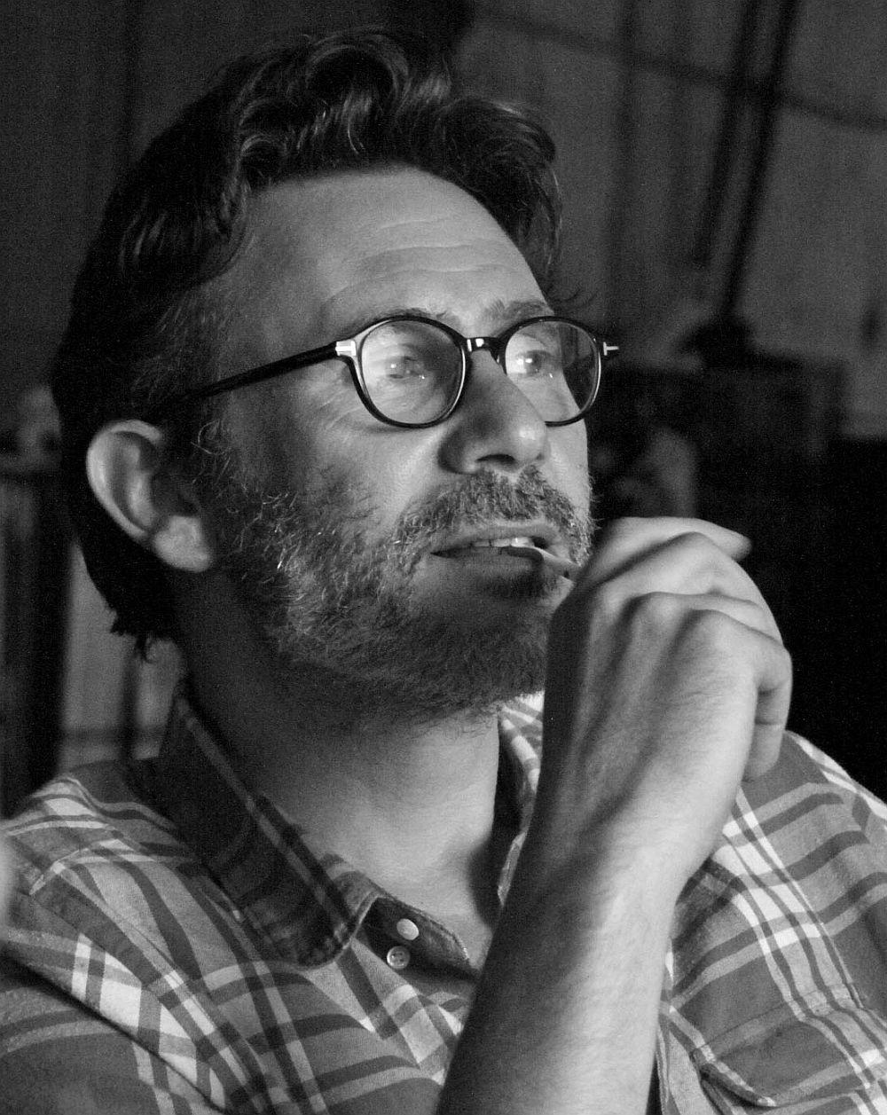 """Michel Hazanavicius am Set von """"The Artist"""""""
