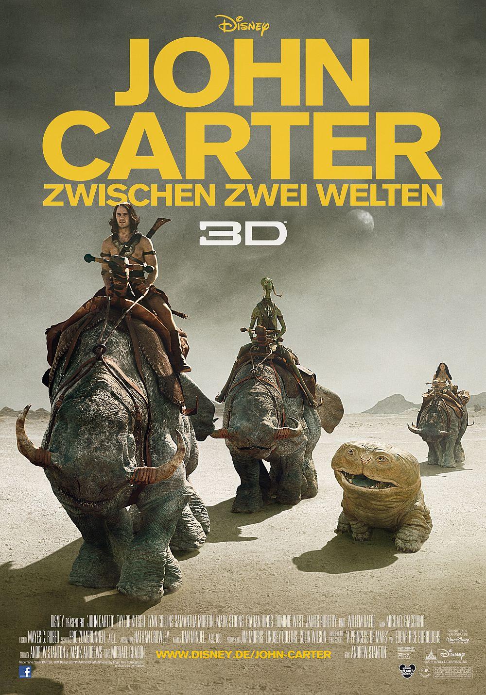 John Carter - Zwischen zwei Welten 3D (Kino) 2012