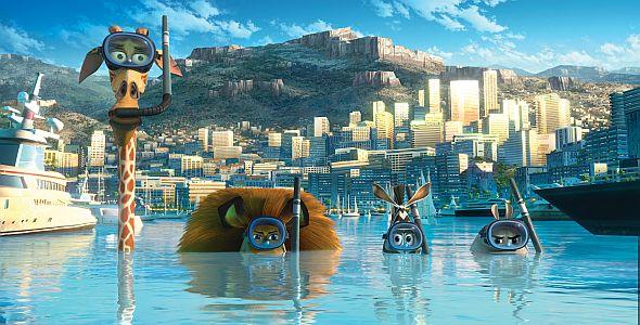 Madagascar 3 - Flucht durch Europa (quer) 2012
