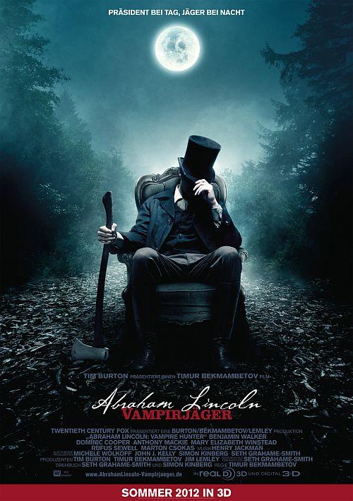 Abraham Lincoln Vampirjäger (Kino) 2012