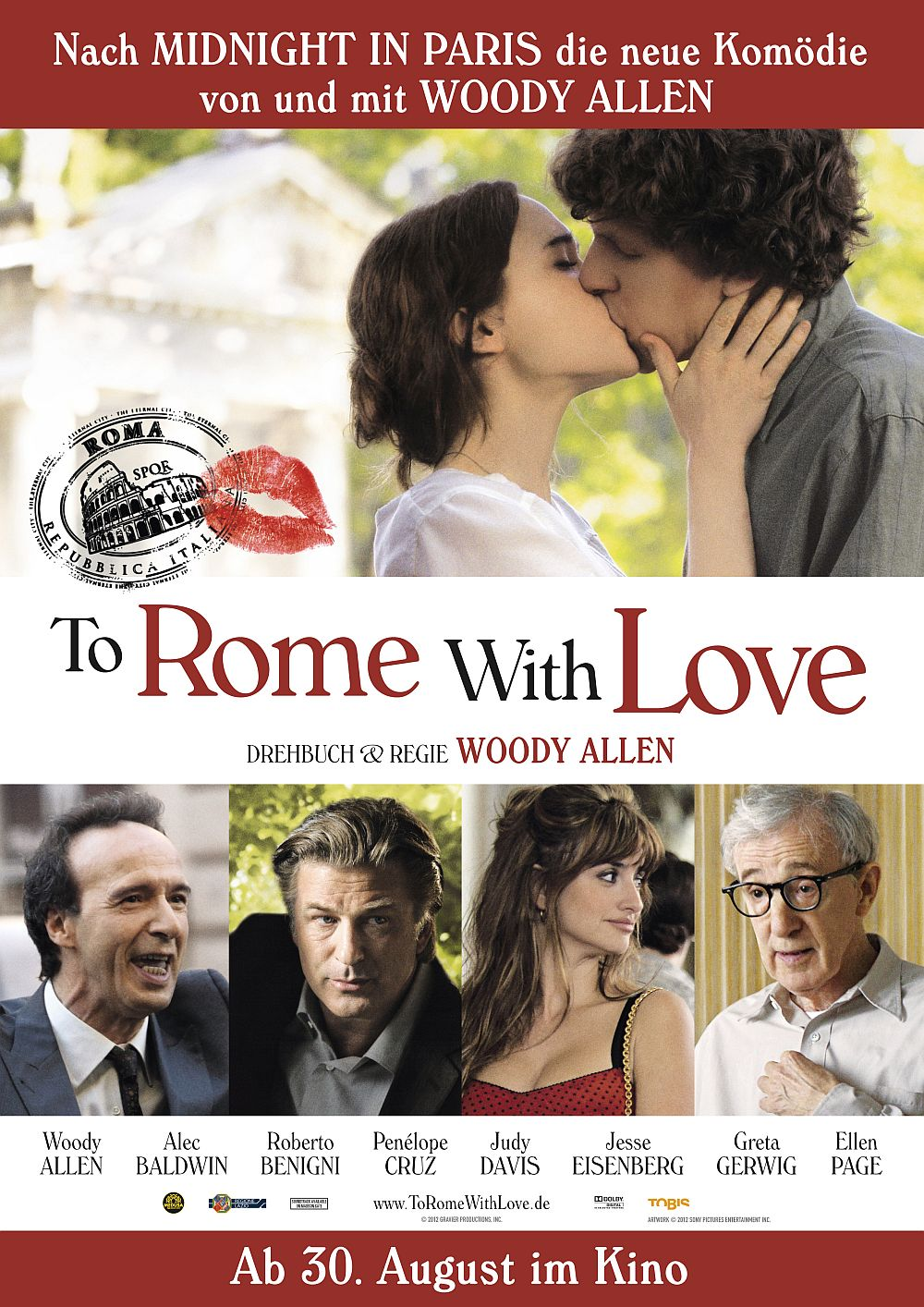 Filmplakat zu To Rome with Love