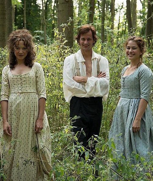 """Beim Dreh von """"Die geliebten Schwestern"""""""